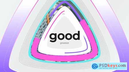 VideoHive Colorful Shapes Logo Reveal 24722239