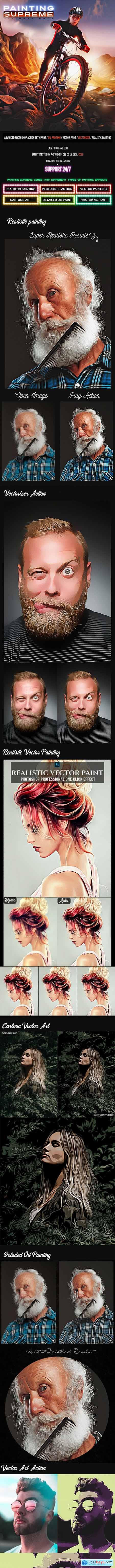Supreme Painting Photoshop Actions 24884912