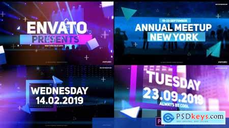 Videohive Shape Animated Event Opener 23732888