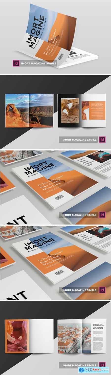 Imort magazine simple - Magazine Template