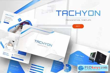 Tachyon - IT Company Powerpoint, Keynote and Google Slides Templates