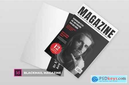Blackmail - Magazine Template
