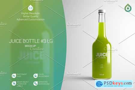 Juice Bottle LG Mock-Up #3 [V2.0] 4167104