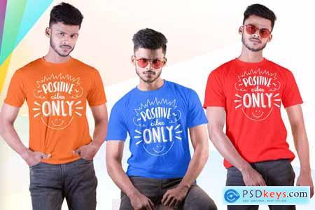 Male t-shirt Mockup-V-2-001 4180886