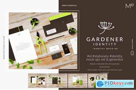 The Gardener ID Mock-ups Generator 4249537