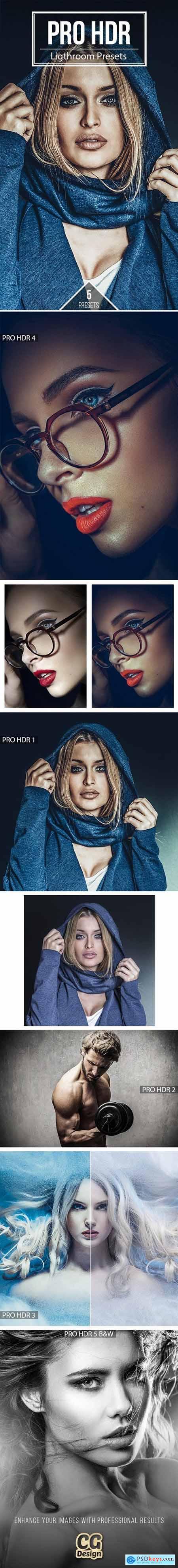 PRO HDR - 5 Premium Lightroom Presets 21223492