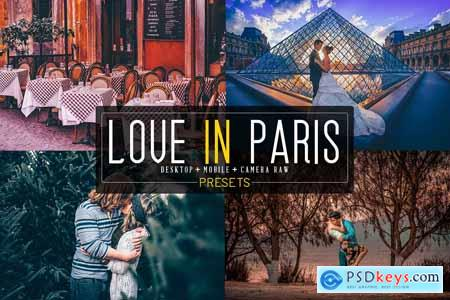 20 Love In Paris LR+DNG+ACR Presets 4213317