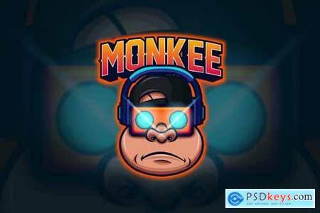 Monkey - Mascot & Esport Logo