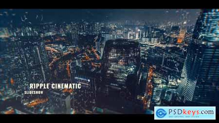 Videohive Ripple Cinematic Slideshow 21108576