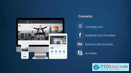 Videohive Website Presentation Pack 12430933