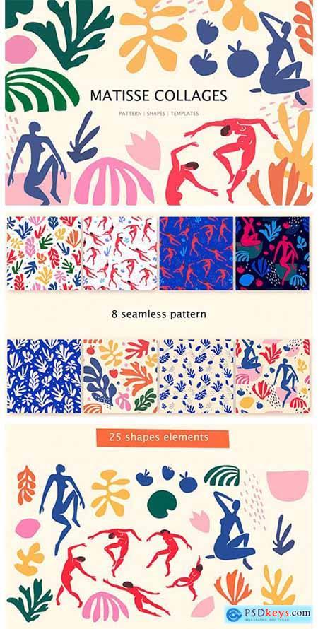 Matisse Collages Art 3917458