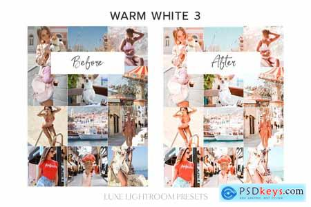 7 WARM WHITE Lightroom Mobile Preset 4247228