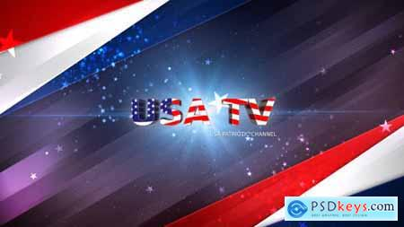Videohive USA Patriotic Broadcast Pack 16688143
