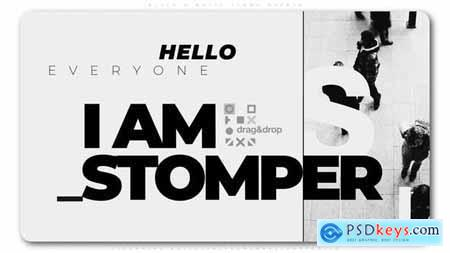 Videohive Black And White Stomp Opener 24827541