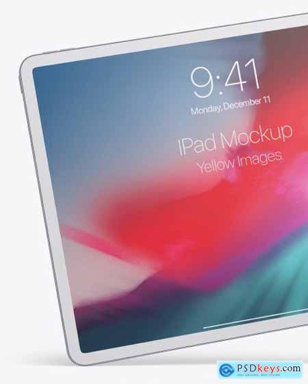Clay Apple iPad Pro 2018 12.9 Mockup 50943