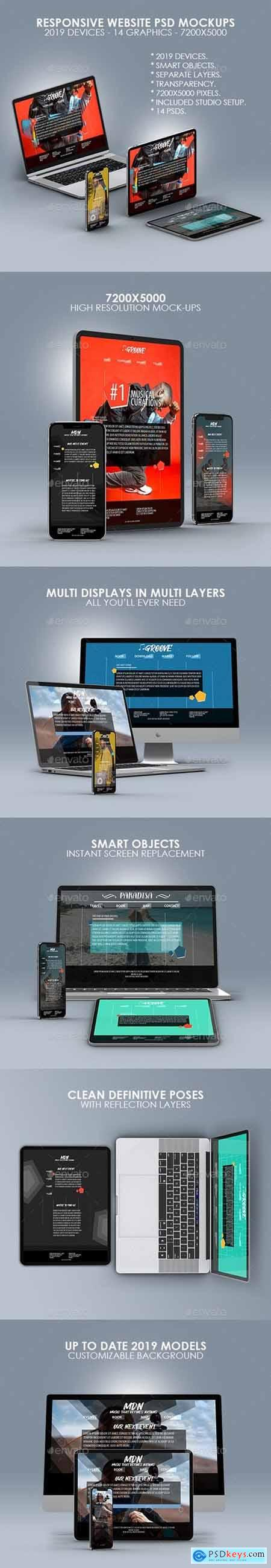 Responsive Website PSD Mock-ups 24723540
