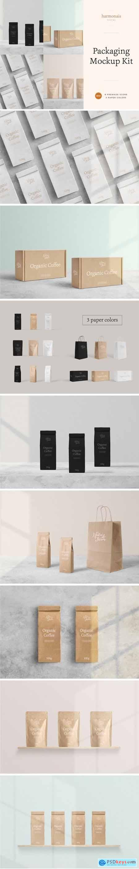 Package Mockup All Scenes - Min No.1 3842241