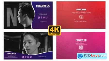 Videohive Social Outro Follow Pack 24994926