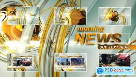 Videohive Morning News Intro 23475763