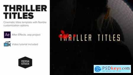Videohive Thriller Titles 22595716