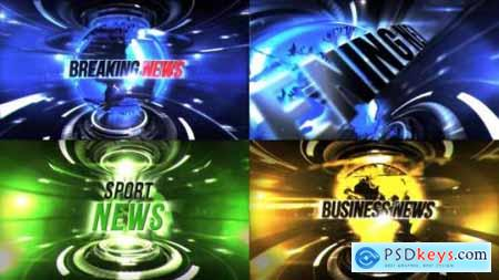 Videohive TV Broadcast News Package 23089670