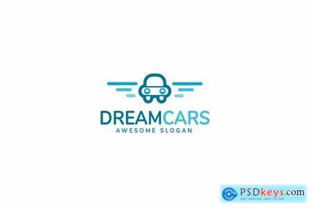 Dream Cars Logo Template