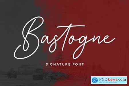 Bastogne Signature Font 4272862