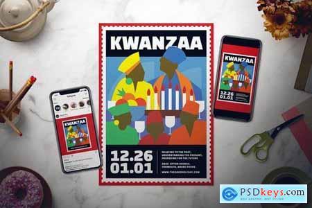 Kwanzaa Flyer Set