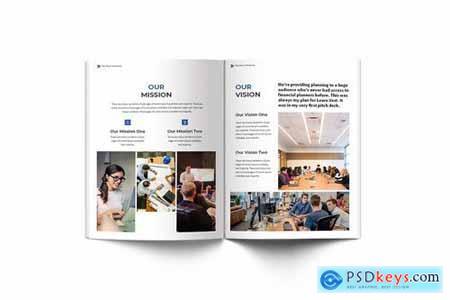 Pitch Deck Business A4 Brochure
