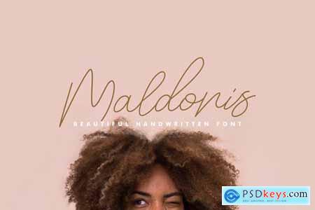 Maldonis Monoline Script 4174681