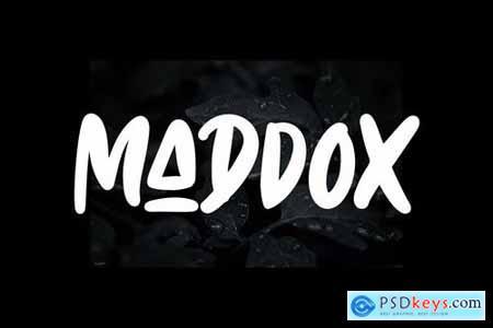 Maddox Font