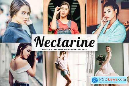 Nectarine Mobile & Desktop Lightroom Presets