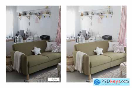 Photoshop Actions - Natural Indoors 3727992