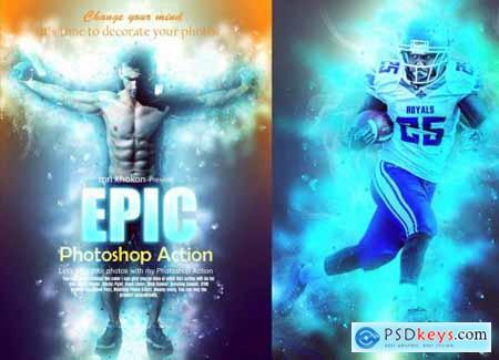 Epic Photoshop Action 3707035