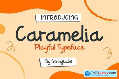 Caramelia - Playful Children Typeface 4273922