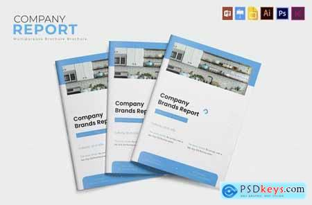 Company Brand Report Template