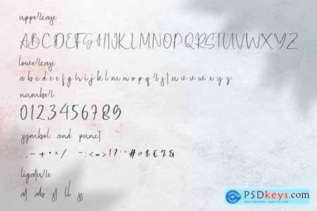 Geovanice - Casual Signature Font 4274330