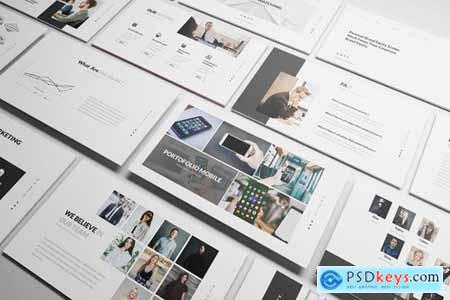 Multipurpose Corporate Powerpoint Google Slides and Keynote Templates