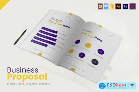 Proposal Project Brochure Template