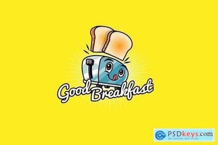 toast - Mascot & Esport Logo