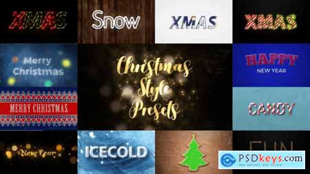 Videohive Christmas styles 22868450