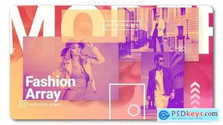 Videohive Fashion Array 24989205