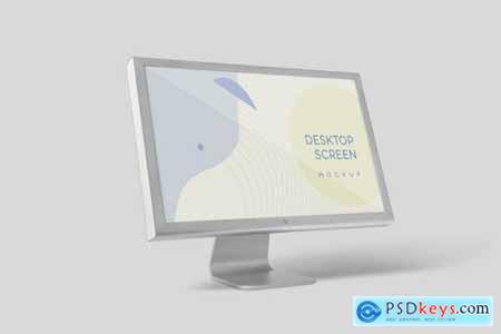 Desktop Screen Mockup