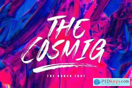 The Cosmig - Brush Font