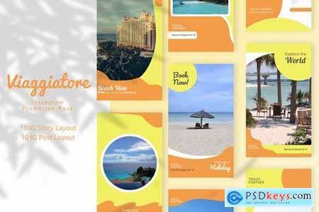 Viaggiatore - Instagram Promotion Pack