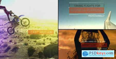 Videohive Titles and Lower Thirds 8171370