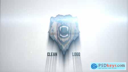 Videohive Clean Glitch Logo 22866726