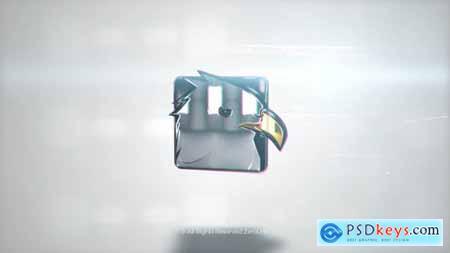 Videohive Clean Chrome Logo 21730609