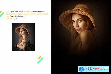 Focus Photoshop Action 4264297