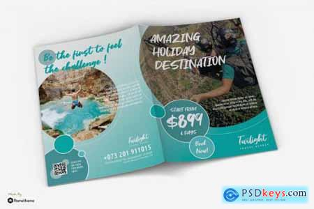 Twilight - Travel Promotion Bifold Brochure RY